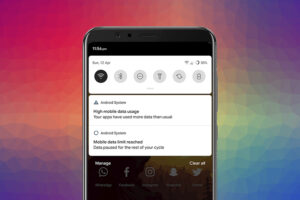 How to Remove Cellular Data Limit Exceeded Notification