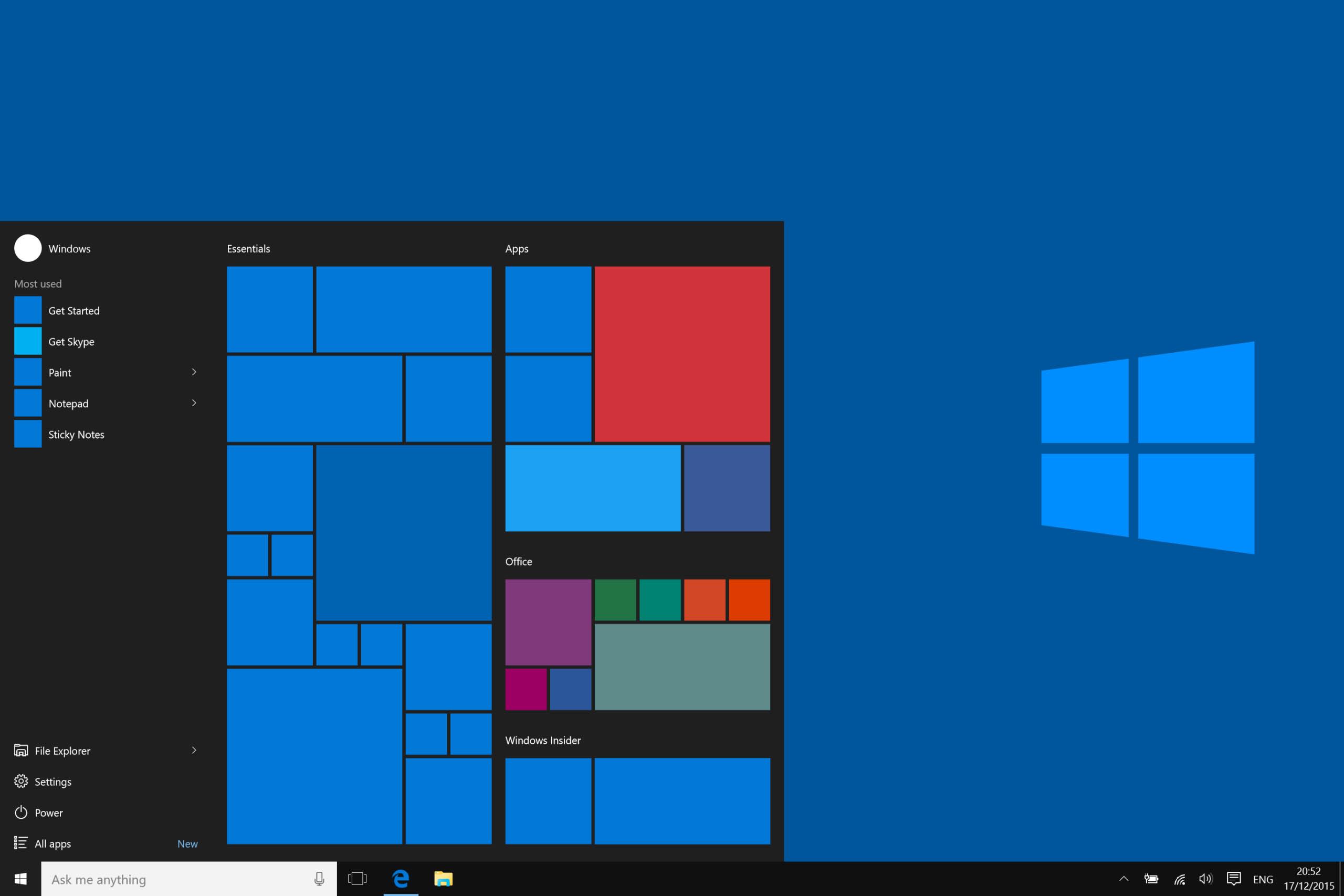 minimalist windows 10