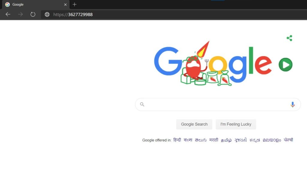 No Dot Decimal google