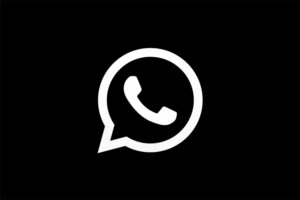 Dark Mode WhatsApp Logo