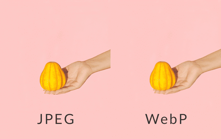 comparing to jpeg image to webp